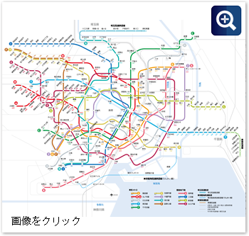 名城線路線図