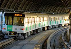 Sapporo Municipal Subway Map.Sapporo Municipal Subway Japanese Subway Japan Subway Association